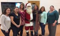 Adult volunteers helped make the night a huge success!